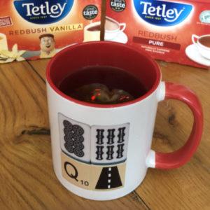 redbush tea and vanilla