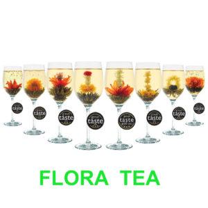 Flora tea set